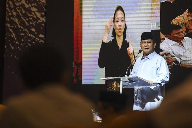 Elektabilitas Meroket, Fitnah terhadap Prabowo Makin Bertubi-tubi