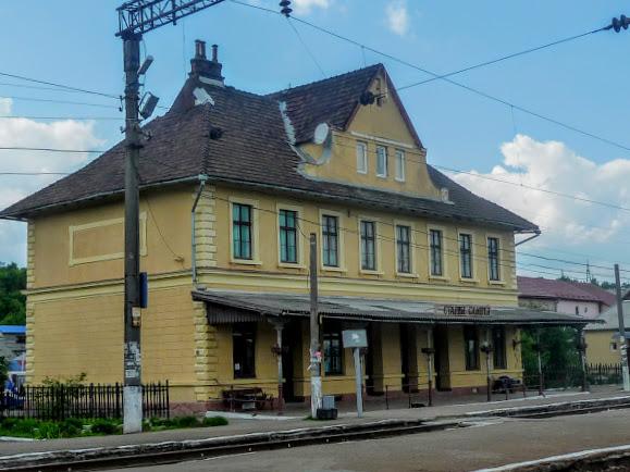 Старый Самбор. Железнодорожный вокзал