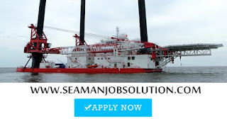 Chief engineer for offshore jack up barge