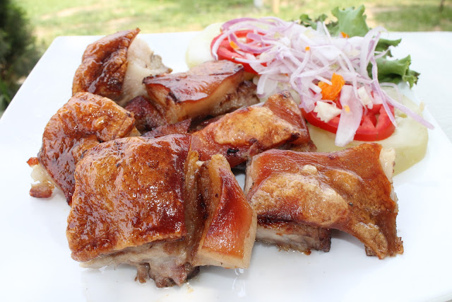 Chancho al palo peruano receta preparacion