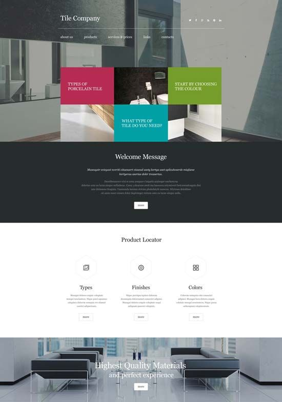 Http Www Designsmag Org 2016 03 Interior Design Furniture Website Templates Html