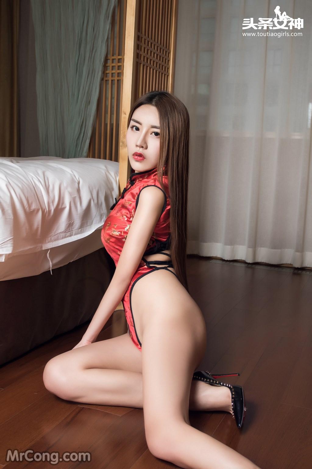 Image MrCong.com-TouTiao-2016-12-13-An-Su-Rui-006 in post TouTiao 2016-12-13: Người mẫu An Su Rui (安苏芮) (18 ảnh)
