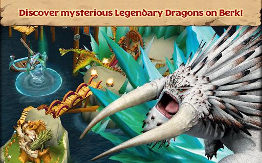 تحميل لعبة Dragons: Rise of Berk مهكرة للاندرويد أخر اصدار