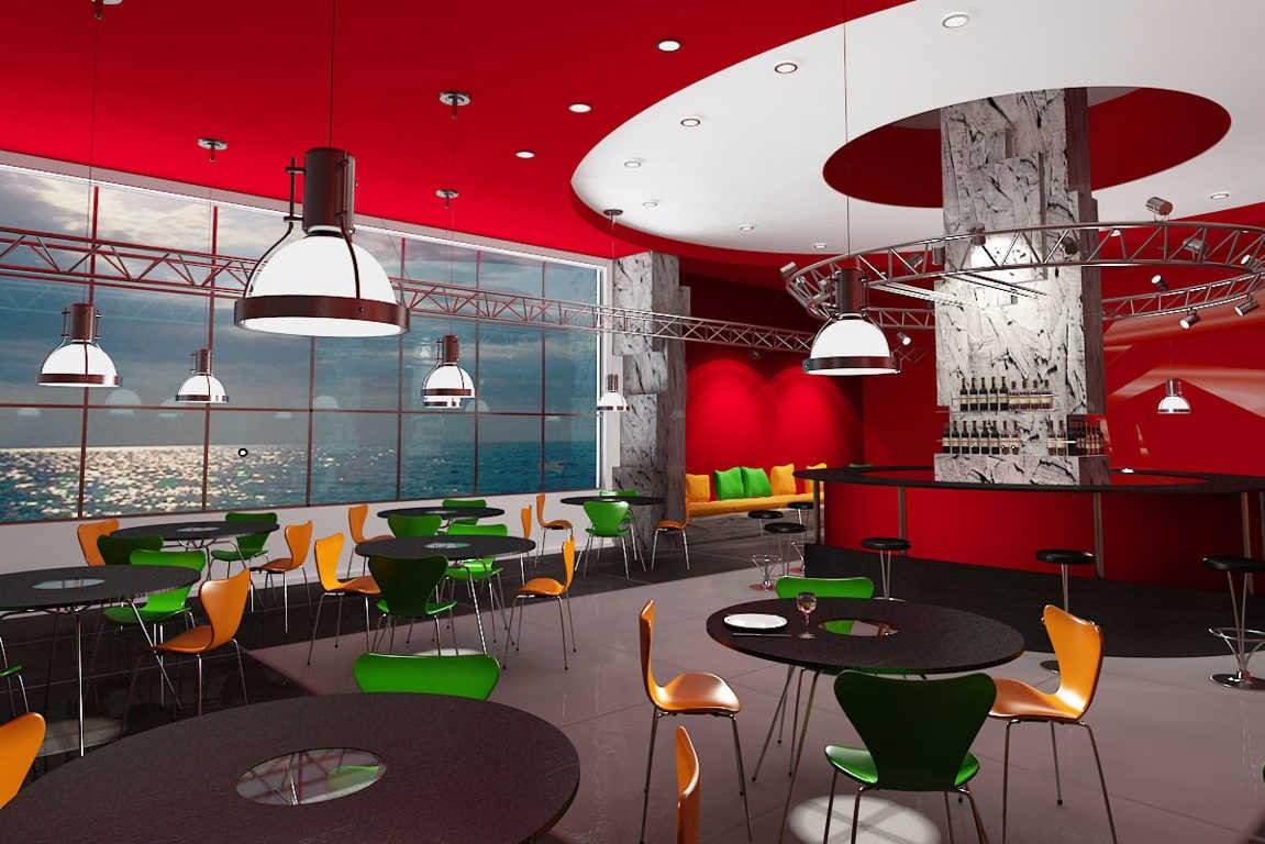 warna cat interior cafe 3