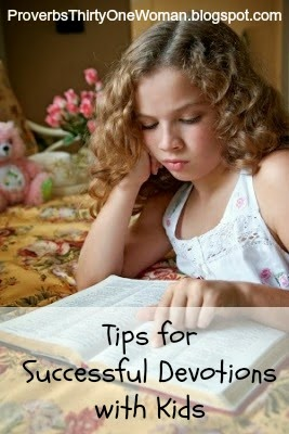 Tips for Successful Devotions with Young Kids