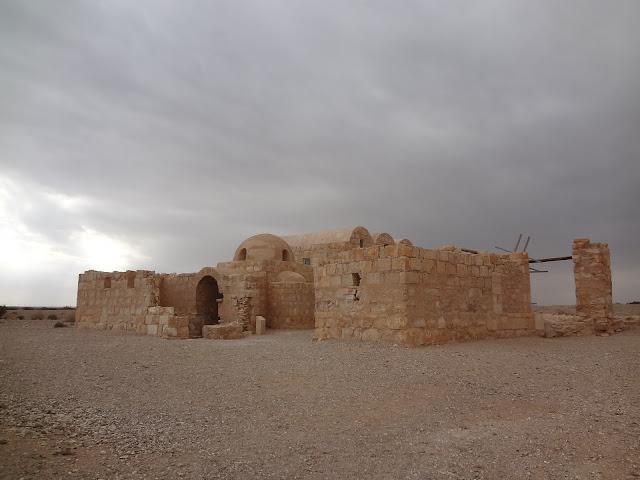 Qusair Amra en Jordania