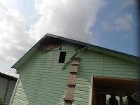 Нарушение правил устройства отопительной печи в бане привело к пожару