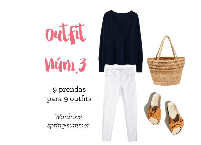 cómo combinar unos pantalones blancos outfit verano