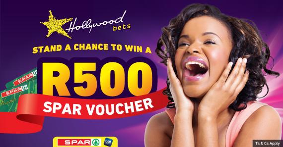 Stand a chance to win a R500 SPAR Voucher