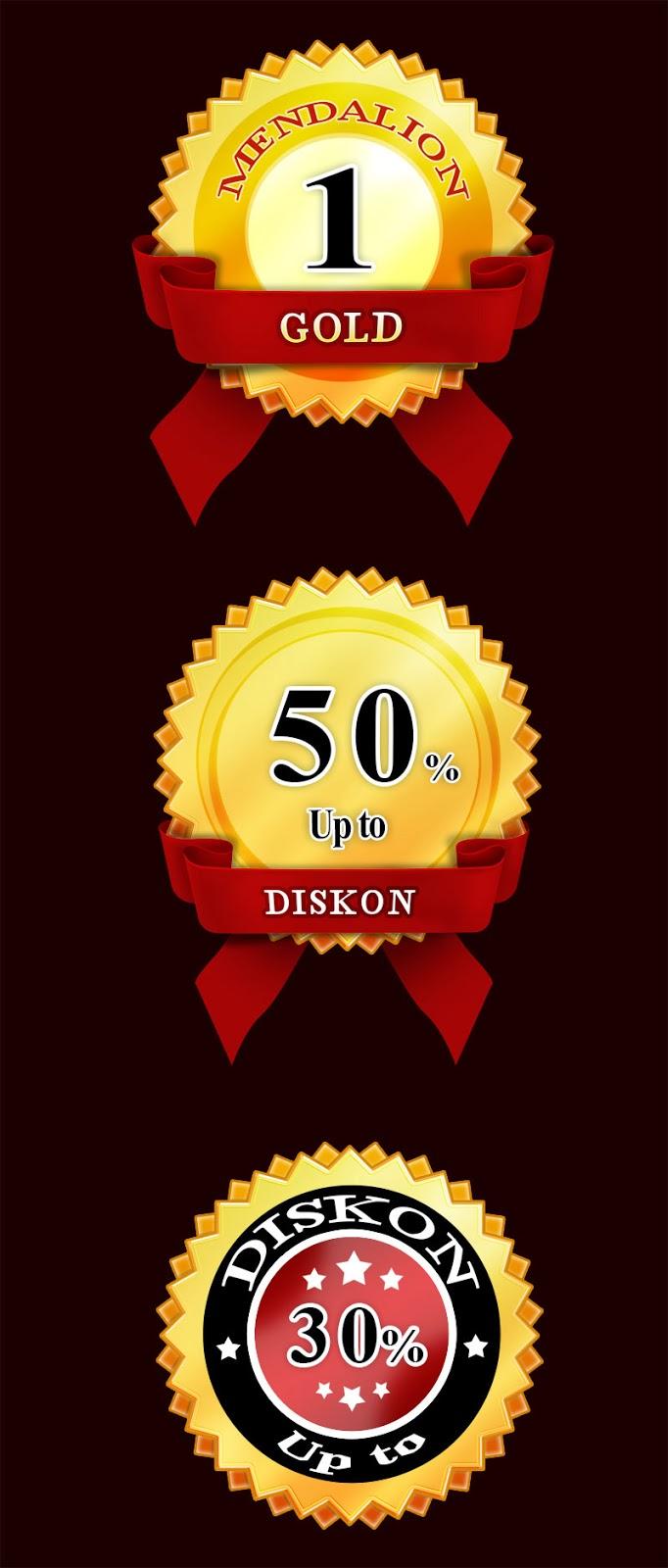 Membuat Doskon, Mendalion dengan Photoshop