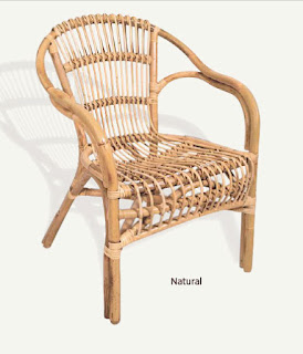 Sillon Peñiscola Natural y Colores Rattan Class