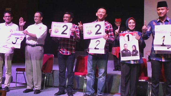 Unik, Keajaiban Nama Paslon Pilgub DKI Jakarta