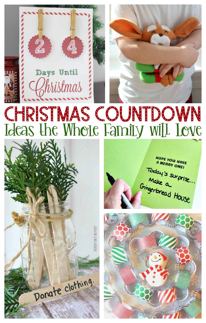Count the days until Christmas with these fun Christmas countdown ideas! Includes free printable Christmas countdown calendars, DIY Christmas countdowns, random acts of kindness ideas, and Christmas activities for kids. Perfect for advent calendars and advent activities too. #christmascountdown #advent #adventcalendar #Christmas