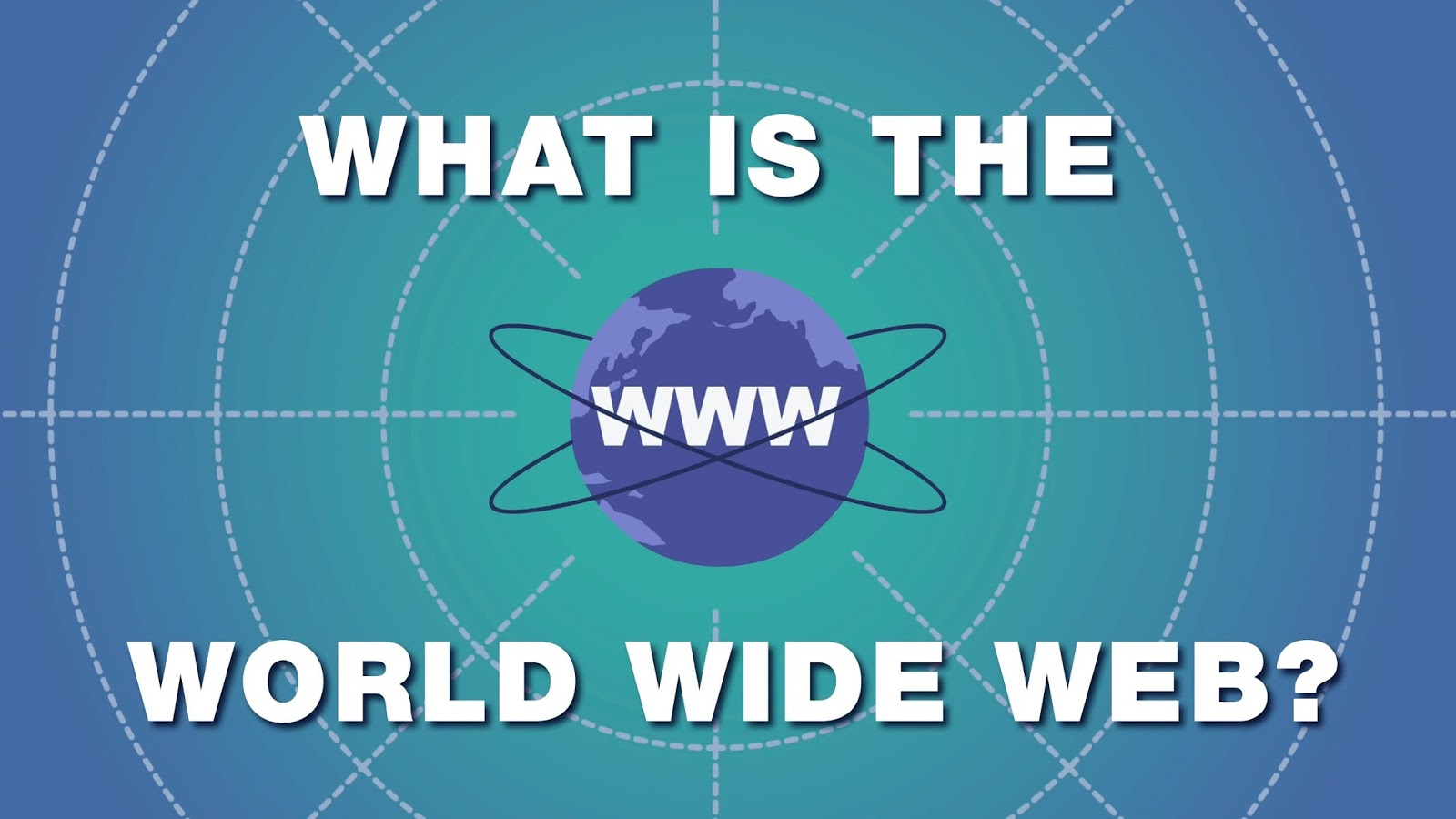 What is the world wide web? [video]
