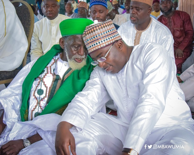 Vice President Bawumia Joins National Chief Imam To Thank Allah On His 100th Birthday Anniversary