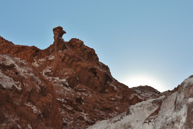Vale da Lua no Deserto do Atacama