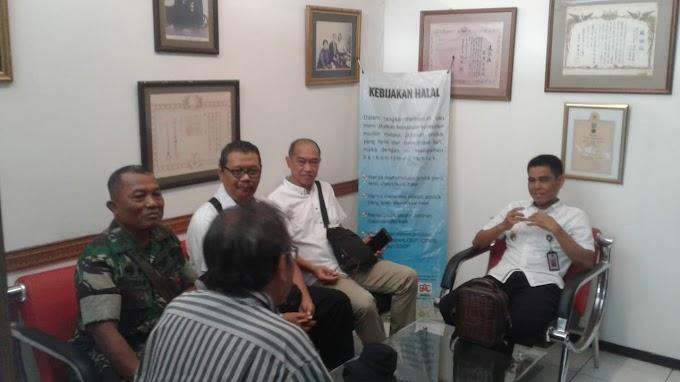 Kunjungan Tim Wantanas Ke PT Ambico Gempol