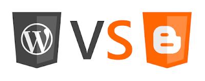perbedaan blogger dan wordpress beserta kelebihan dan kekurangannya