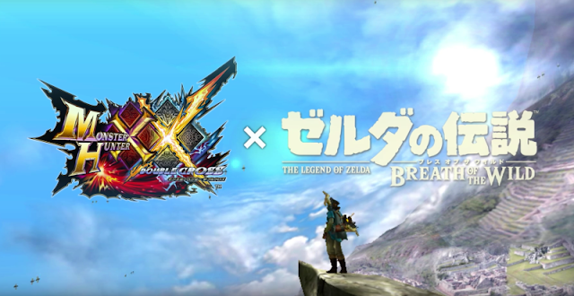Nuevos gameplays del DLC de Zelda BOTW en Monster Hunter Cross XX