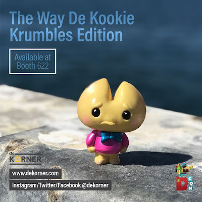Designer Con 2017 Exclusive The Way De Kookie Krumbles Edition Kookie No Good Vinyl Figure by Scott Tolleson x De Korner