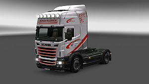 Morgan McLernon skin for Scania RJL