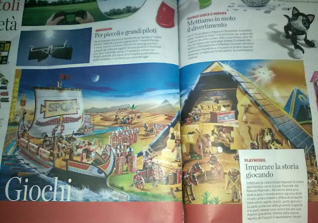 Christmas gifts for archaeologists. Playmobil and educational games for children