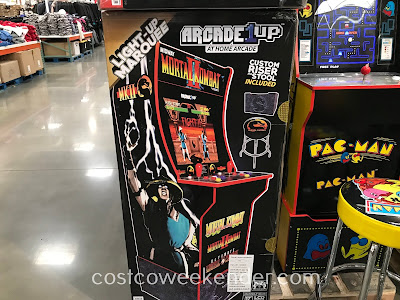 Choose from such games as Pac-Man and Centipede