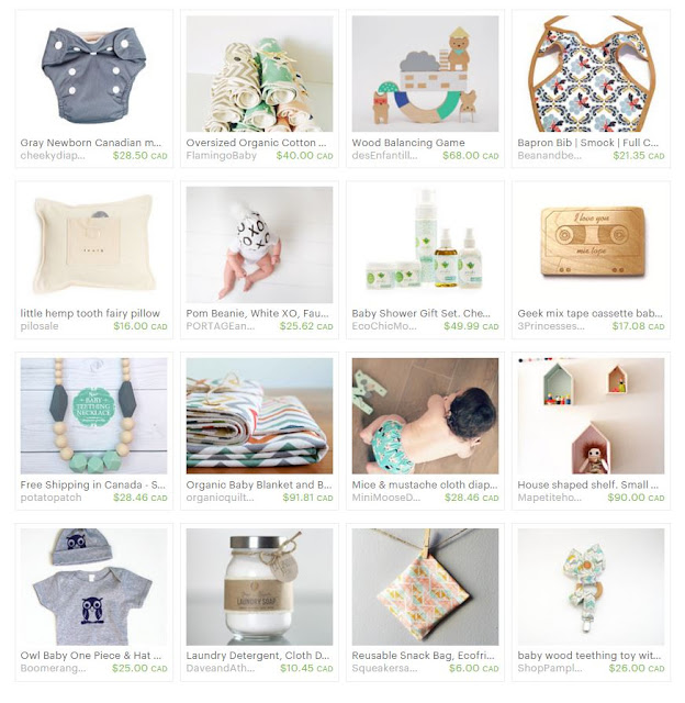 Etsy Treasury by Creative Clementine: You're a Natural, Baby!