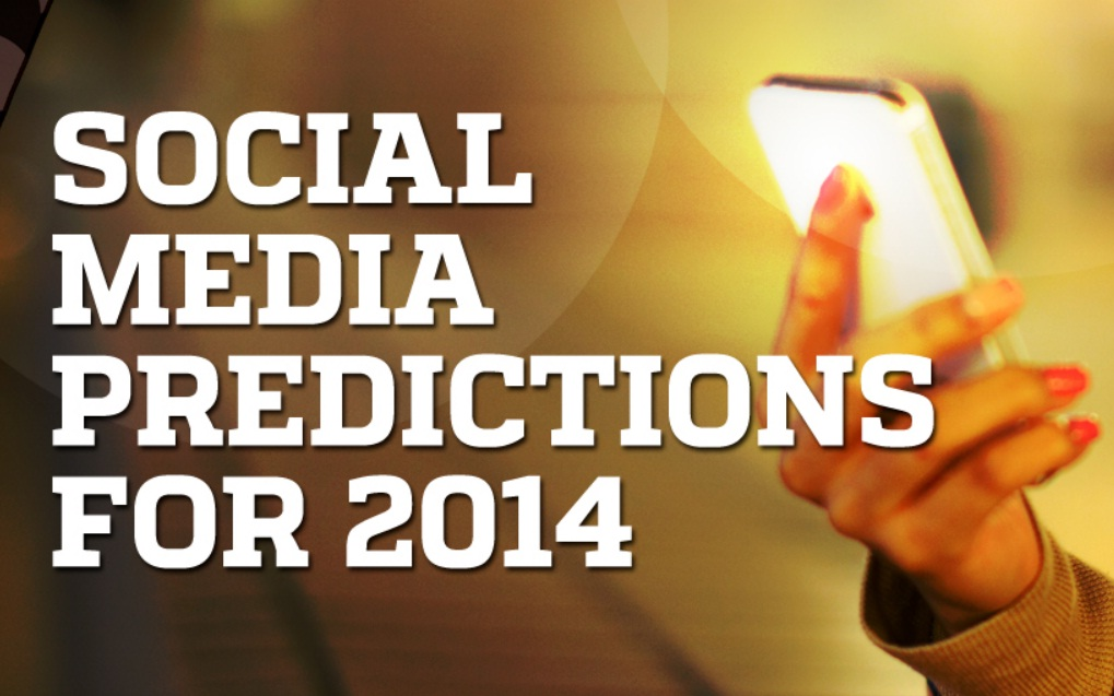 7 Next Big Things In Social Media - infographic - Social Media Predictions 2014