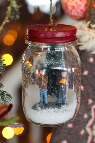 Christmas Terrarium as ornament