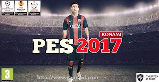Pro Evolution Soccer PES 2017 Seba Lorenzo ISO Android