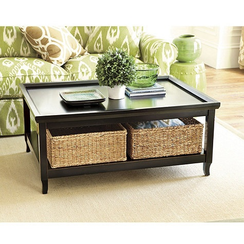 The Coffee Table Is Perfect E For Baskets They Add A Design Touch And Can Hold So Many Useful Items Coasters Magazines Board List Goes
