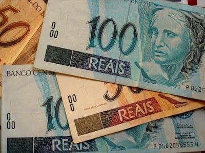 Foto do dinheiro que você vai ganhar trabalhando online
