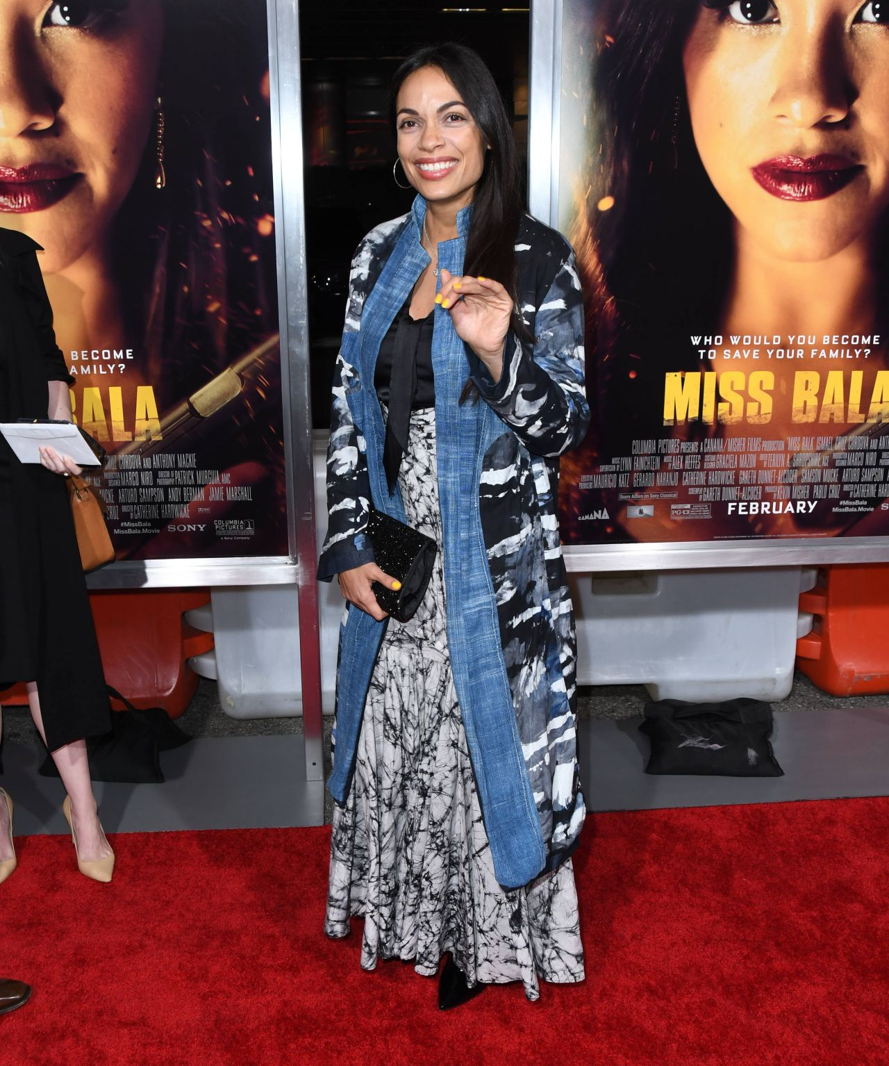 "Rosario Dawson – ""Miss Bala"" Premiere in Los Angeles 01/30/2019"
