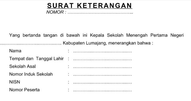 Surat Kelulusan