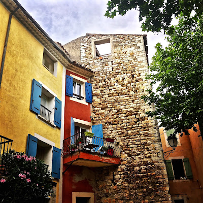 Houses in Rians, Provence