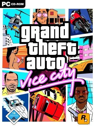 Cover GTA Vice City Full, game cướp đường phố