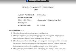 DOWNLOAD RPP K13 KELAS 1 TEMA 3 SUBTEMA 1 PEMBELAJARAN 3