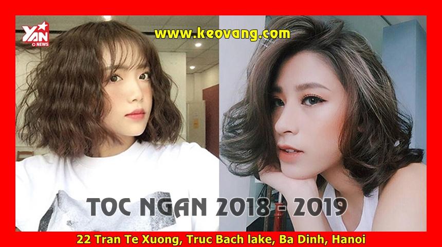 KIỂU TÓC NGẮN LỬNG THANH XUÂN ĐẸP NHƯ THIÊN THẦN 2018 2019 2020