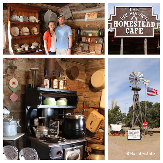 48 No Interstate: Our Favorite Restaurants in America - Homestead Cafe in Pie Town, New Mexico