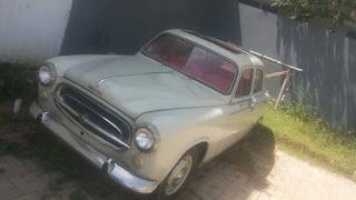 BUKALAPAK MOBIL KUNO : Forsale 1961 Peugeot 403 - JAKARTA