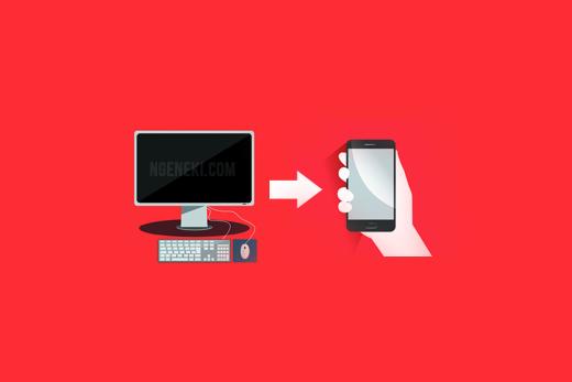 Cara Mengirim File dari Komputer atau Laptop ke HP