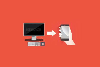 5 Cara Mengirim File dari Komputer atau Laptop ke HP