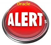 Oracle Apps Alert Images