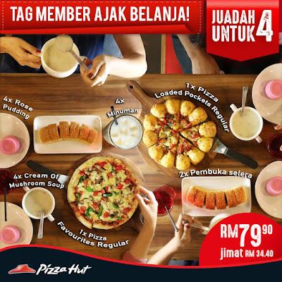 Pizza Hut Malaysia Loaded Pocket Juadah Untuk 4