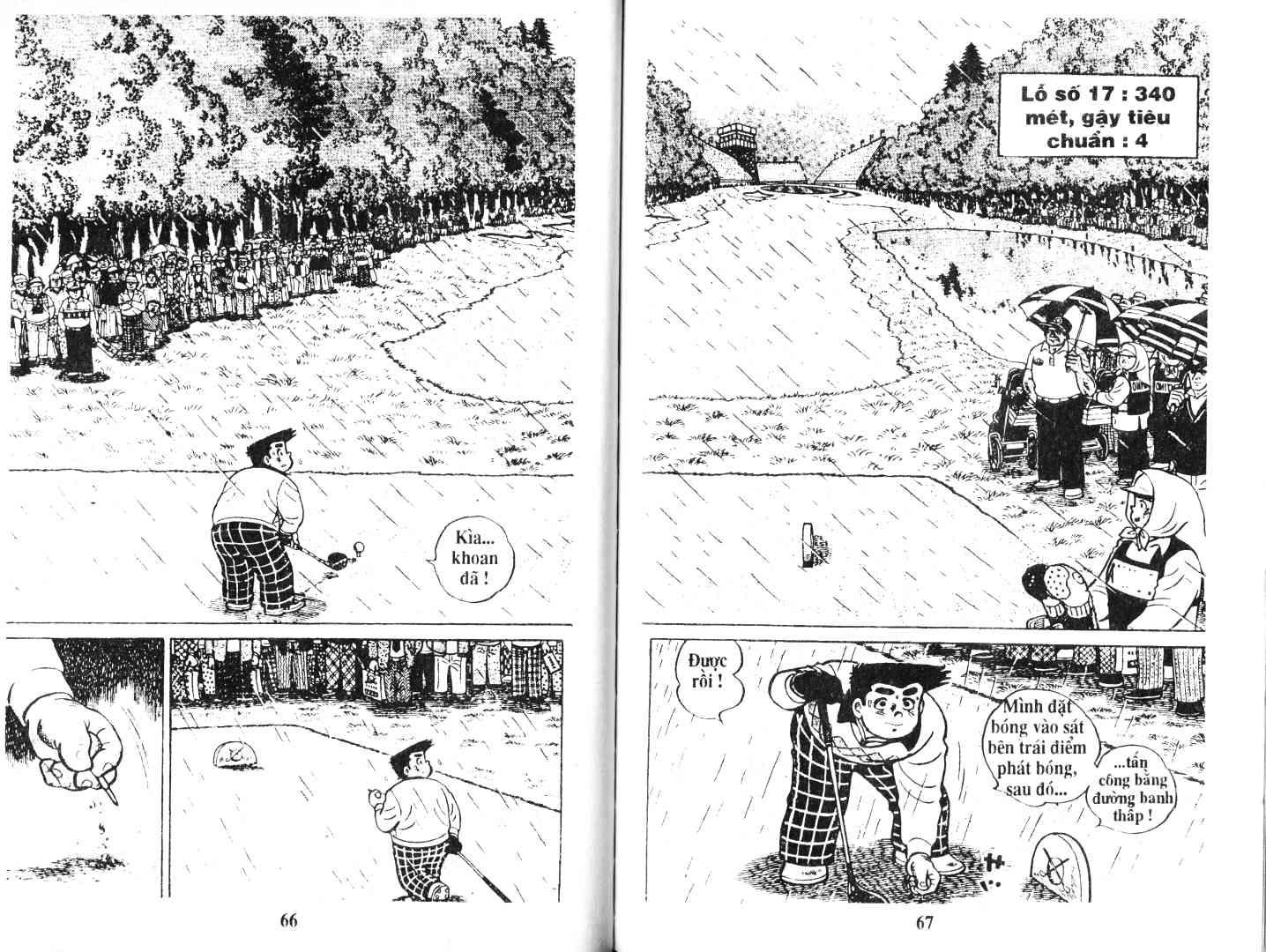 Ashita Tenki ni Naare chapter 47 trang 33