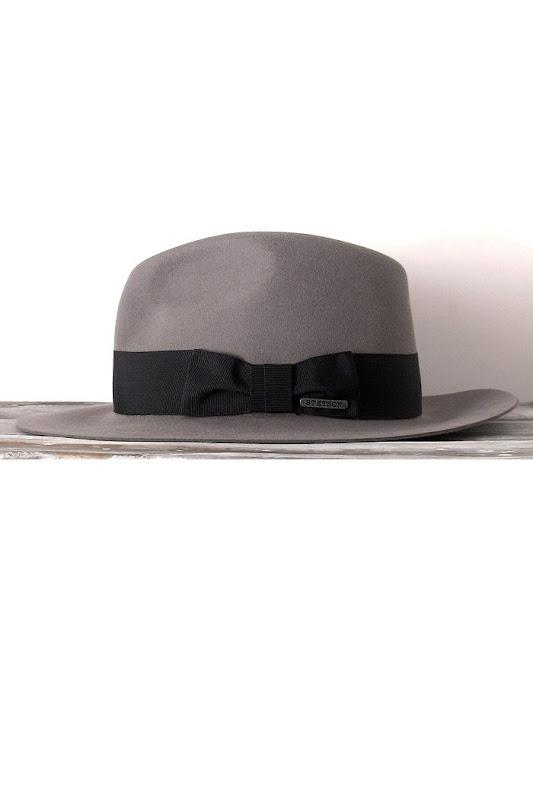 Chapeau femme Stetson gris clairn