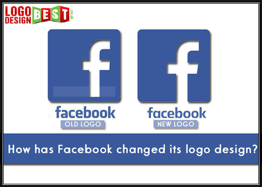How has Facebook changed its logo design?