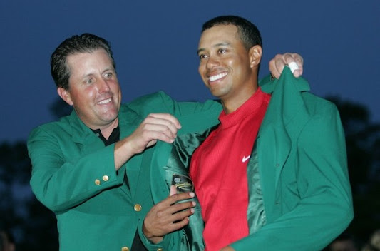 Tiger Woods green jacket