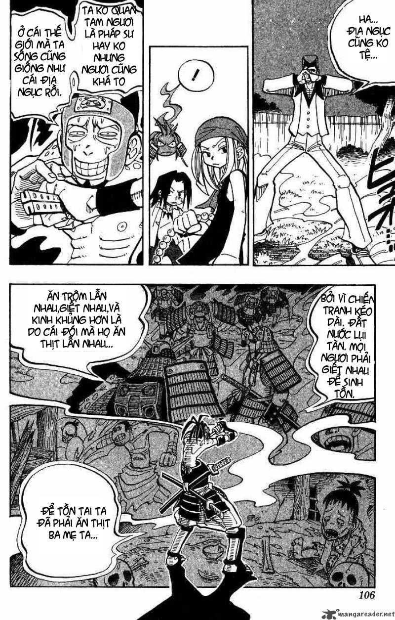 Shaman King [Vua pháp thuật] chap 22 trang 19